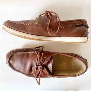 Clark's Leather Boat Shoes